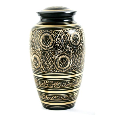 Brass urn with bronze finish – multiple sizes available